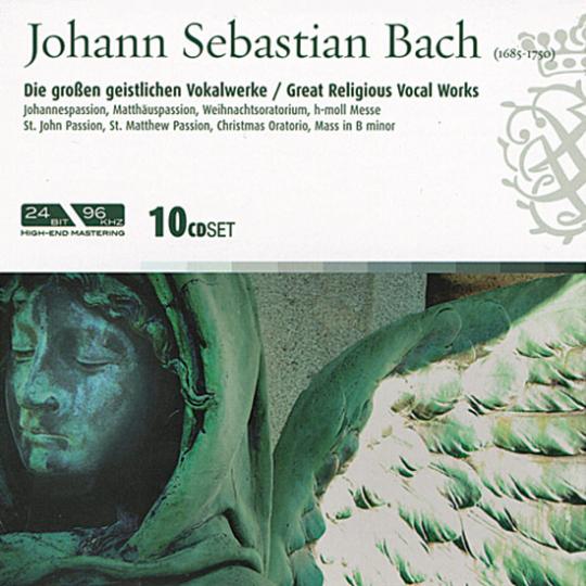 Johann Sebastian Bach. Die großen geistlichen Vokalwerke