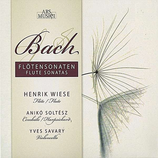 Johann Sebastian Bach. Flötensonaten BWV 1030, 1032, 1034, 1035. CD.