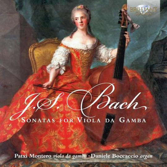Johann Sebastian Bach. Gambensonaten BWV 1027-1029. CD.