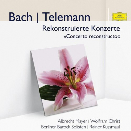 Johann Sebastian Bach, Georg Philip Telemann. Rekonstruierte Konzerte. CD.