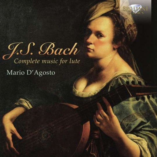 Johann Sebastian Bach. Lautenwerke (Gesamt-Aufnahme). 2 CDs.