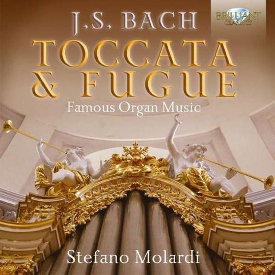 Johann Sebastian Bach. Orgelwerke »Toccata & Fugue«. 2 CDs.