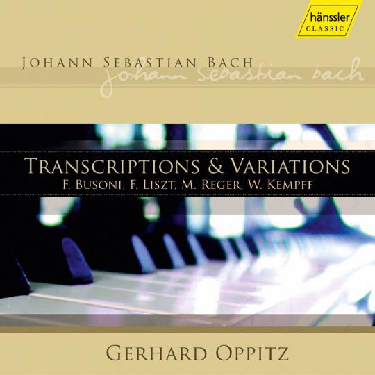 Johann Sebastian Bach. Transkriptionen & Variationen. 2 CDs.