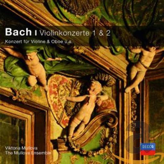 Johann Sebastian Bach. Violinkonzerte BWV 1041,1042,1056. CD.