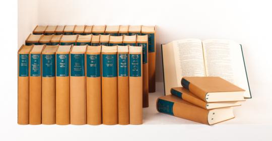 Johann Wolfgang Goethe. Sämtliche Werke nach Epochen seines Schaffens (Lederausgabe). Münchner Ausgabe.