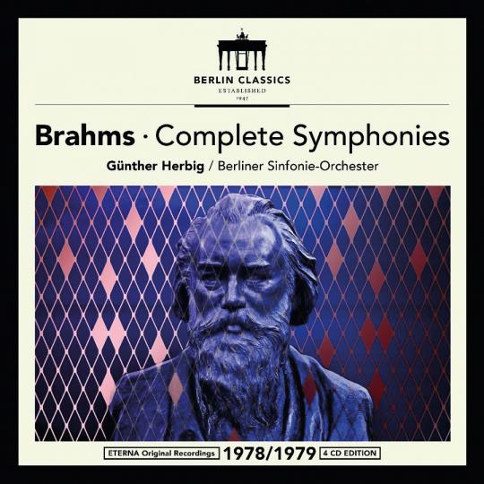 Johannes Brahms. Complete Symphonies. 4 CDs.