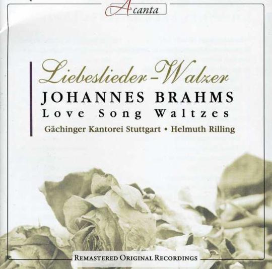 Johannes Brahms. Liebeslieder-Walzer. CD.