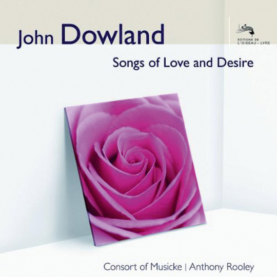 John Dowland. Lautenlieder. CD.