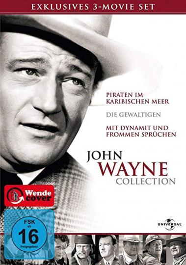 John Wayne Collection. 3 DVDs.