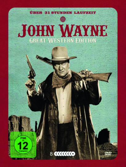 John Wayne. Great Western Edition (31 Filme auf 8 DVDs). 8 DVDs.