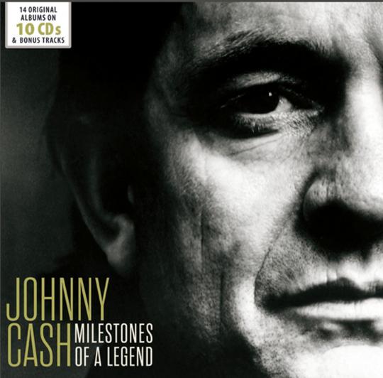 Johnny Cash. Milestones Of A Legend. 14 Original-Alben.