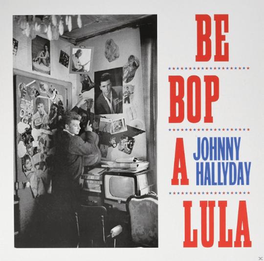 Johnny Hallyday. Be Bop A Lula. LP.