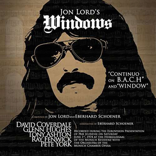 Jon Lord. Windows (2017 Reissue). CD.
