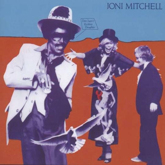 Joni Mitchell. Don Juan's Reckless Daughter. CD.