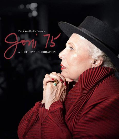 Joni Mitchell. Joni 75: A Birthday Celebration. DVD.