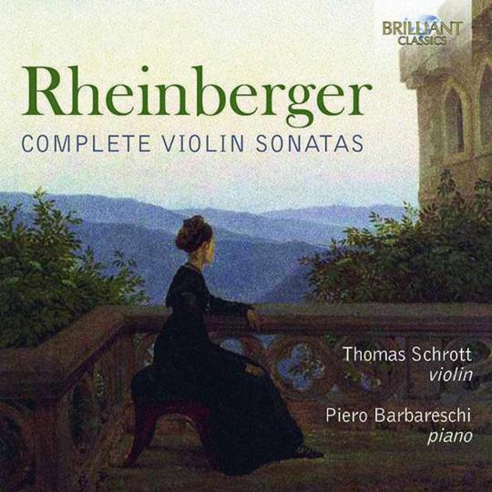 Josef Rheinberger. Sonaten für Violine & Klavier Nr.1 & 2. CD.