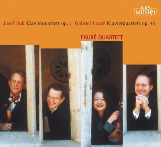 Josef Suk. Klavierquartett Nr. 1. CD.