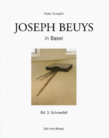 Joseph Beuys in Basel. Band 3 Schneefall.