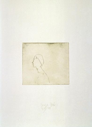 Joseph Beuys Zirkulationszeit »Kopf H.B.«