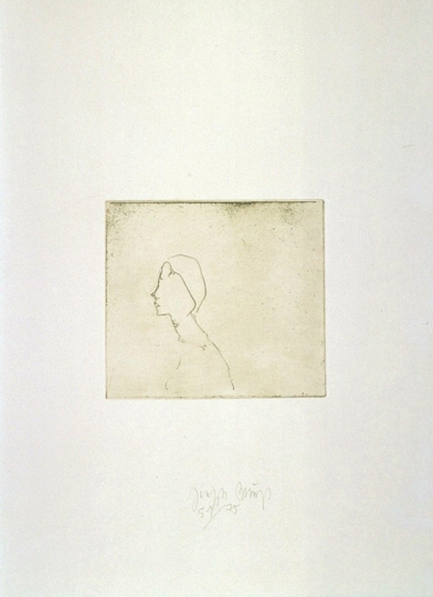 Joseph Beuys »Zirkulationszeit Kopf H.B.«