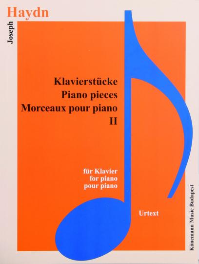 Joseph Haydn. Klavierstücke II. Noten für Klavier.