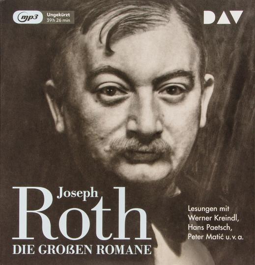 Joseph Roth. Die großen Romane. 6 mp3-CDs.