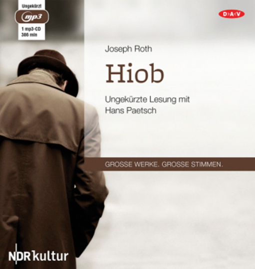 Joseph Roth. Hiob. mp3-CD.