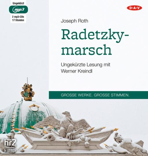 Joseph Roth. Radetzkymarsch. 2 mp3-CDs.