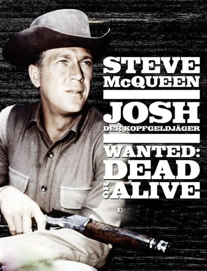 Josh. Wanted: Dead or Alive komplett. 12 DVDs.