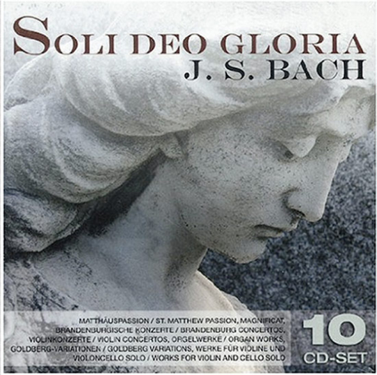 J. S. Bach. Soli Deo Gloria. 10 CDs.