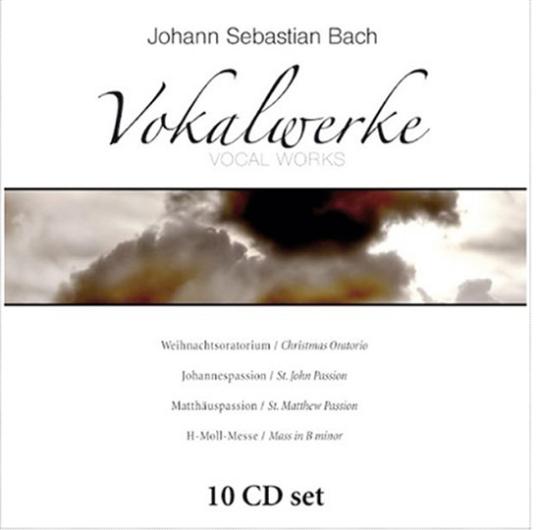 J. S. Bach. Vokalwerke. 10 CDs