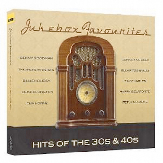 Jukebox Favourites. Hits of the 30s & 40s . 4 CDs.