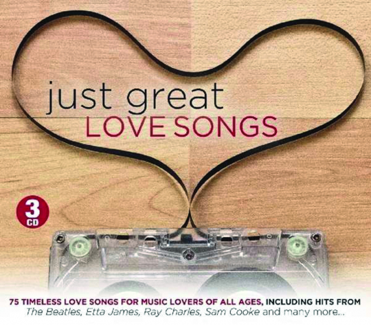 Just Great Love Songs. 3 CDs.