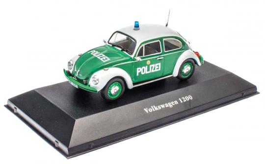 Käfer Polizei 1977 - Modell 1:43