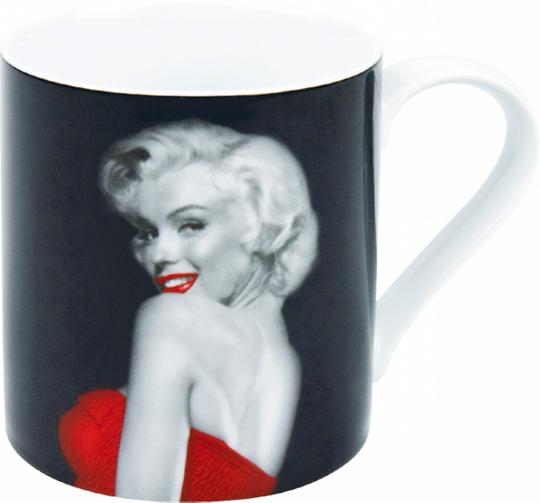 Kaffeebecher Marilyn Monroe - Lady in Red