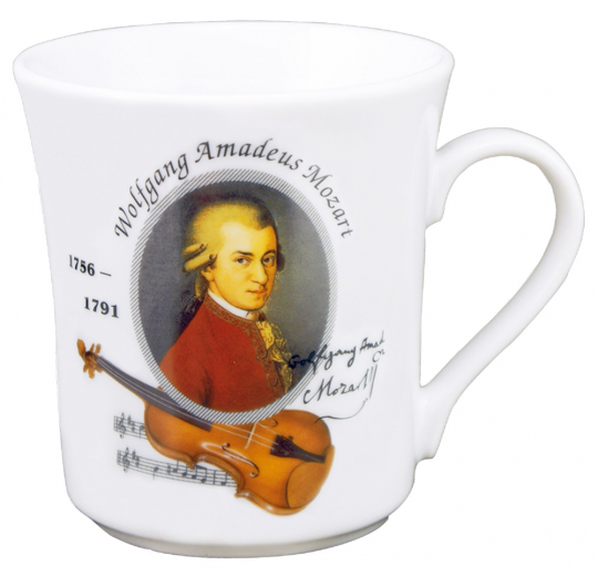Kaffeebecher Mozart