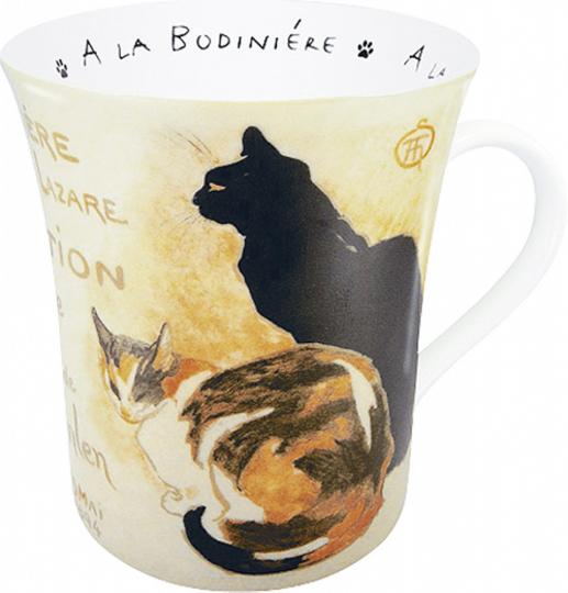 Kaffeebecher Steinlen »Katze«