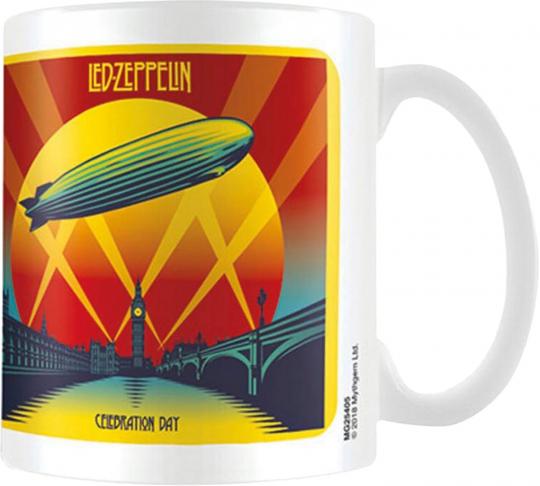 Kaffeebecher »Led Zeppelin - Celebration Day«.