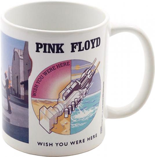 Kaffeebecher. »Pink Floyd. Wish You Were Here.«