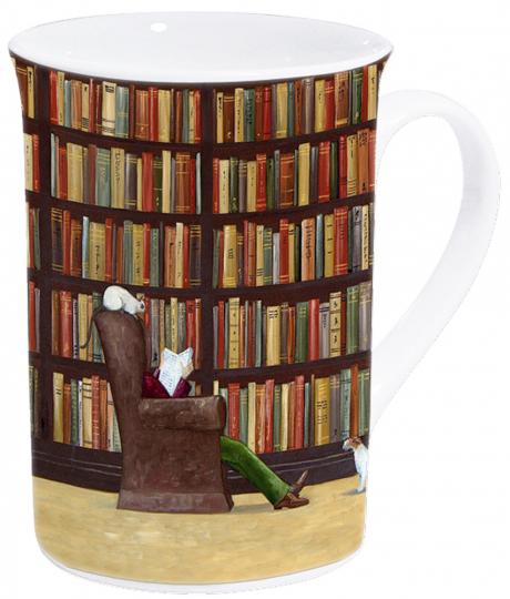 Kaffeetasse »Ich lese«.