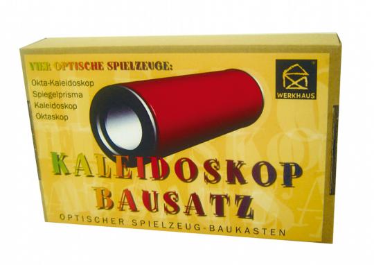 Kaleidoskop Bausatz - Optischer Spielzeug-Baukasten