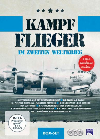 Kampfflieger im Zweiten Weltkrieg 3 DVDs