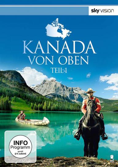 Kanada von oben. 2 DVDs.