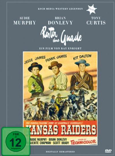 Kansas Raiders - Reiter ohne Gnade DVD