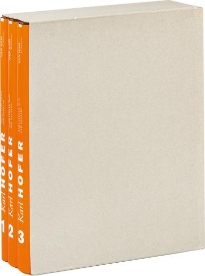 Karl Hofer. Werkverzeichnis der Gemälde. 3 Bände.