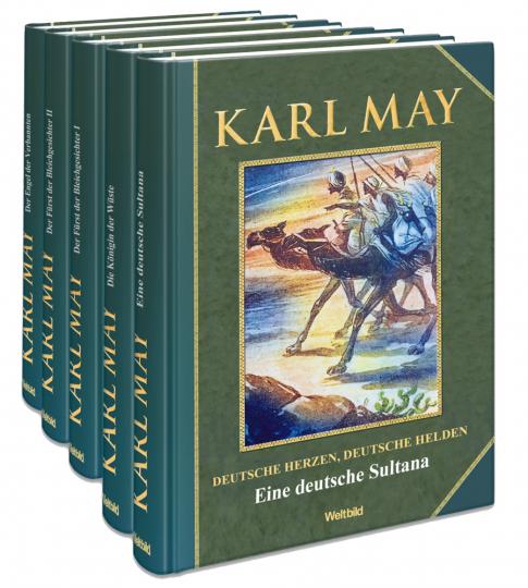 Karl May Buchpaket: Deutsche Herzen - Deutsche Helden