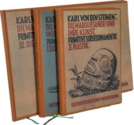 Karl von den Steinen. Die Marquesaner und ihre Kunst. Studien über die Entwicklung primitiver Südseeornamentik nach eigenen Reiseergebnissen und dem Material der Museen.