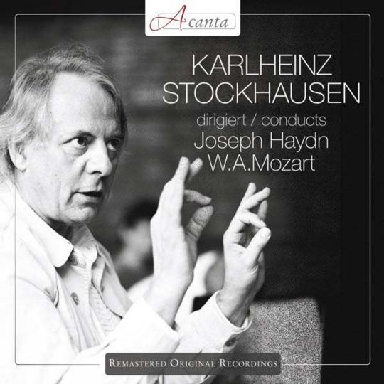 Karlheinz Stockhausen dirigiert Haydn + Mozart. CD.