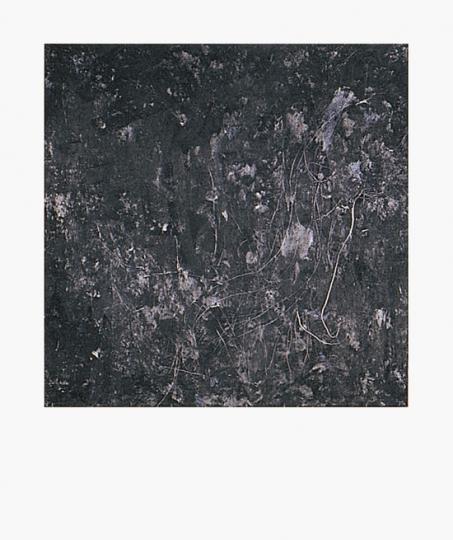Katsuhito Nishikawa. Einzelblatt aus Portfolio »Ein Format 12 Konzepte«, 1990.