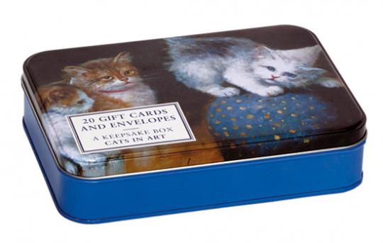 Katzen in der Kunst. Grußkarten.